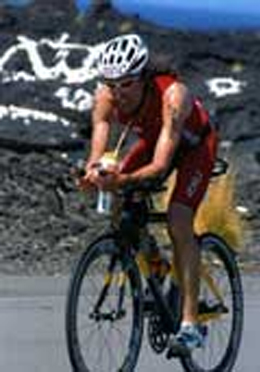 Ironman Hawaii 2009 - Olaf Richters auf der Radstrecke